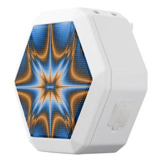 Navajo Fractal Star White Bluetooth Speaker