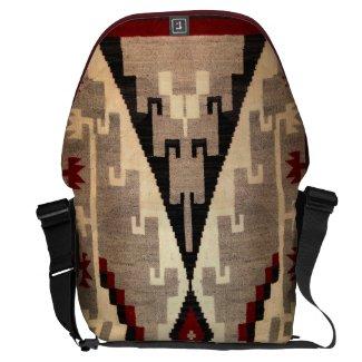 Navajo -Ganado Rug Pattern Messenger Bags
