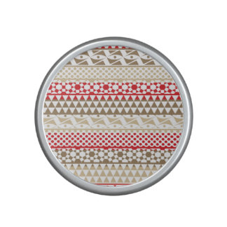 Navajo Geometric Aztec Andes Tribal Print Pattern Bluetooth Speaker