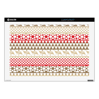 Navajo Geometric Aztec Andes Tribal Print Pattern Decal For Laptop