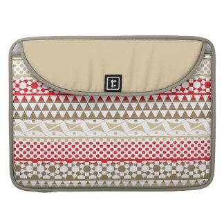 Navajo Geometric Aztec Andes Tribal Print Pattern Sleeve For MacBooks