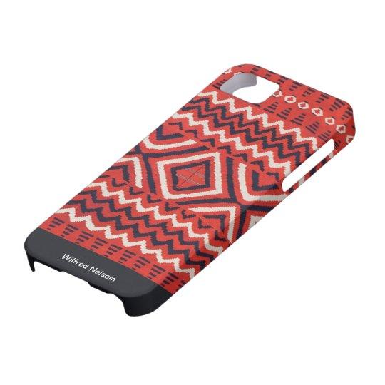 Navajo Indian Art Blanket iPhone SE/5/5s Case