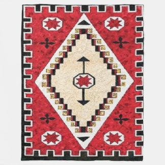 NAVAJO INDIANated) Fleece Blankets