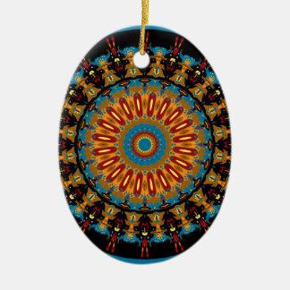 Navajo Inspired Design No. 4 Ceramic Ornament