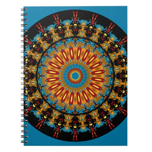 Navajo Inspired Design No. 4 Spiral Note Book