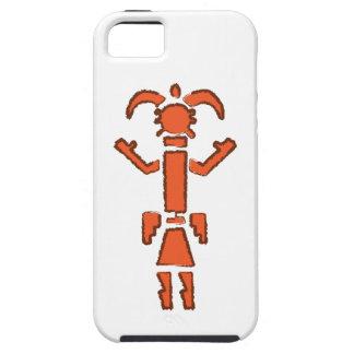 Navajo Kachina - Southwest Indian Design iPhone SE/5/5s Case