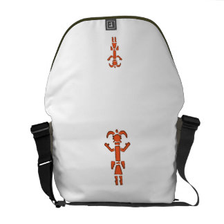 Navajo Kachina - Southwest Indian Design Courier Bag