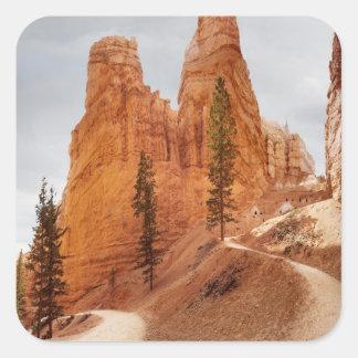 Navajo Loop Trail, Bryce Canyon Square Sticker