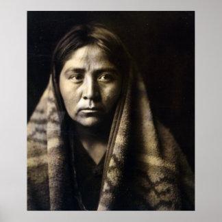 Navajo Matron Poster
