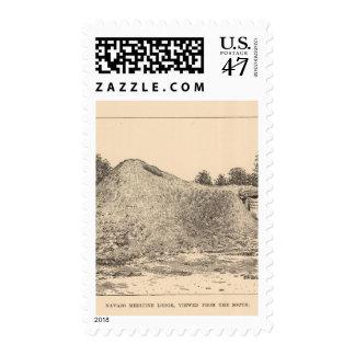 Navajo medicine lodge postage