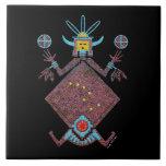 "Navajo Mythology Ceramic Tile<br><div class=""desc"">Navajo Mythology Talking Canyons,  New Mexico</div>"