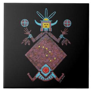 Navajo Mythology Ceramic Tile