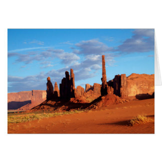 Navajo Nation, Monument Valley, Yei Bi Chei Card
