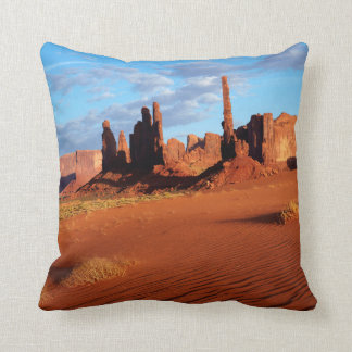 Navajo Nation, Monument Valley, Yei Bi Chei Throw Pillow