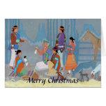Navajo Nativity Scene Card
