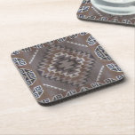 "Navajo Pattern Coaster<br><div class=""desc"">Design created from original Native American art.</div>"
