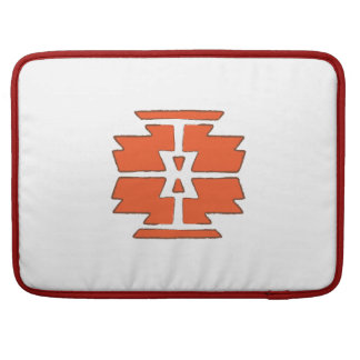 Navajo Print - Southwest Indian Design Sleeve For MacBook Pro