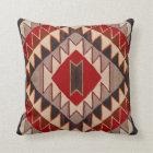 Navajo - Red Mesa Style - early 1900's Throw Pillow