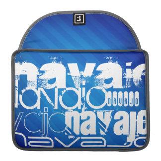 Navajo; Royal Blue Stripes Sleeve For MacBook Pro