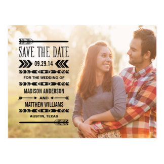 Navajo | Save the Date Post Card