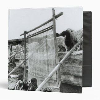 Navajo weavers, c.1914 binder