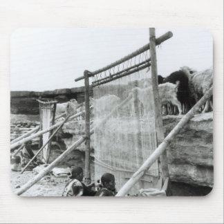 Navajo weavers c 1914 mouse pad