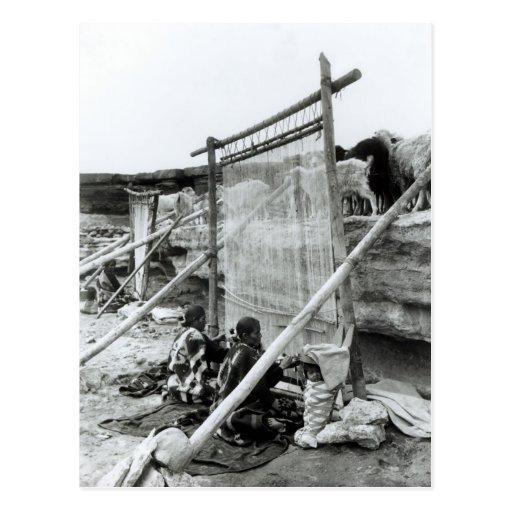 Navajo weavers, c.1914 postcards