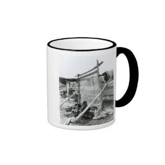 Navajo weavers, c.1914 ringer mug
