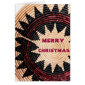 Navajo Wedding Basket Greeting Card