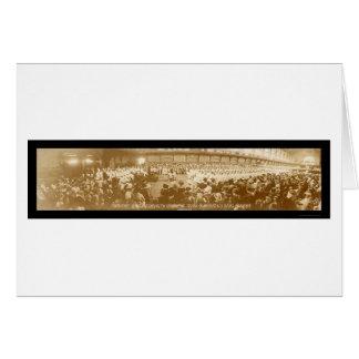 Naval Academy Graduation Photo 1919 Greeting Card
