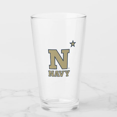 Naval Academy Logo Glass