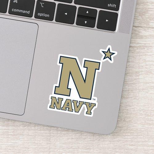 Naval Academy Logo Sticker