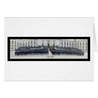 Naval Academy Midshipmen Photo 1922 Card
