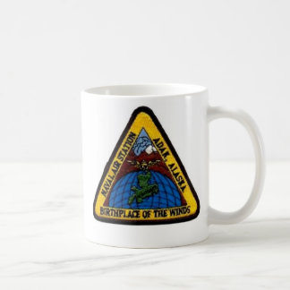 Naval Air Station Adak, Alaska Coffee Cup Classic White Coffee Mug