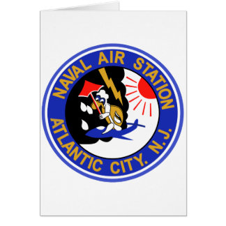 NAVAL AIR STATION ATLANTIC CITY New Jersey Card