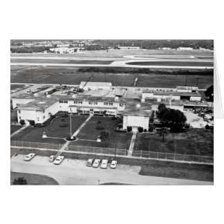 Naval Air Station Fort Lauderdale in the 1950's Greeting Card
