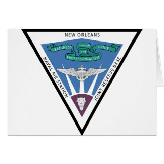 Naval Air Station - New Orleans Card