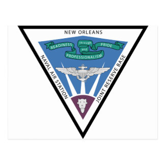 Naval Air Station - New Orleans Postcard
