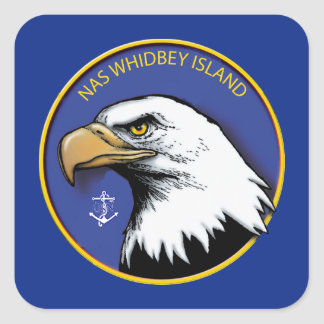 Naval Air Station Whidbey Island Square Sticker