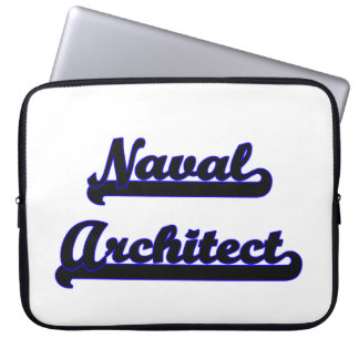 Naval Architect Classic Job Design Computer Sleeves