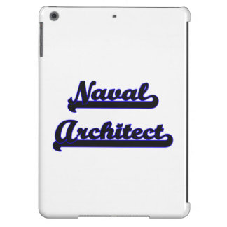 Naval Architect Classic Job Design iPad Air Cases