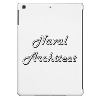 Naval Architect Classic Job Design iPad Air Covers