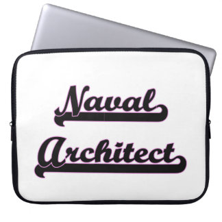 Naval Architect Classic Job Design Laptop Computer Sleeve