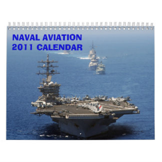 NAVAL AVIATION 2011 - Customized Calendar