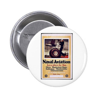 Naval Aviation Pinback Buttons