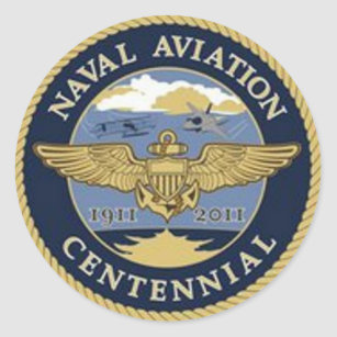 Naval Aviation Centennial Sticker