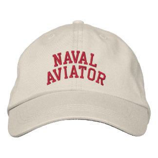 Naval Aviator Embroidered Baseball Cap