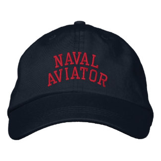 Naval Aviator Embroidered Baseball Hat