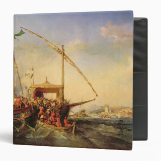 Naval Battle of Imbre in 1346, 1842 Vinyl Binders