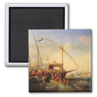Naval Battle of Imbre in 1346, 1842 Magnet